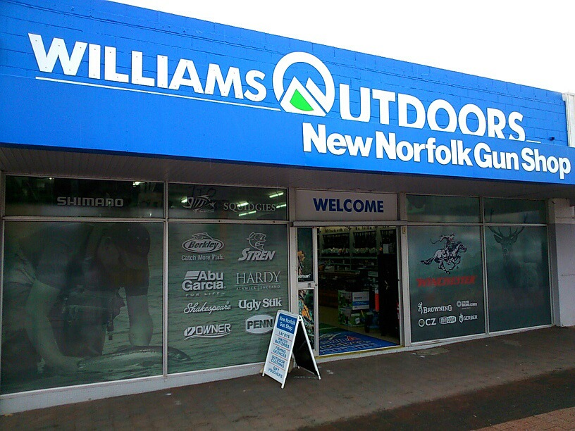 Williams Outdoors New Norfolk